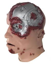 terminator foam latex mask genisys mask horror shop com