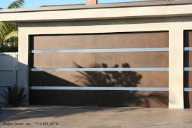 exterior design stainless steel contemporary garage doors with