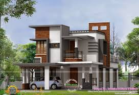 contemporary home design plans modern home designs plans india low cost contemporary house kerala