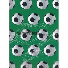 soccer wrapping paper football wrapping paper craft decorative paper at the works