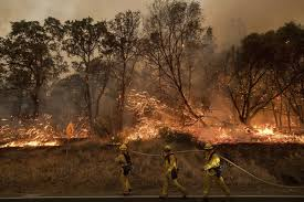 How Many Wildfires In Washington State by Floods Then Fires California Residents Again Face Evacuations
