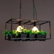 Cafe Pendant Lights Vintage Pendant Lights Creative L Plant Pots Pendant L
