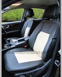 mercedes c class seat covers mercedes c class w204 black beige seat covers car seat covers