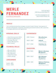 modern resume styles teal memphis style modern resume templates by canva