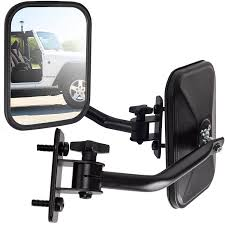 jeep wrangler blind spot mirror side mirror jeep wrangler driver passenger arms adjustable rear