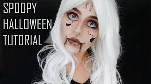 creepy doll halloween makeup tutorial inspired by alice madness