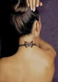 tattoo neck care sexy butterfly neck tattoos for girls fashion s feel tips and