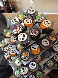 jack skellington and halloween assorted cupcakes i made for my