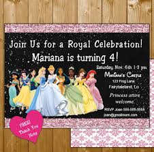 princess invitation u2013 funpartysupply