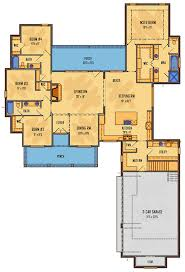 One Story House Plans With Bonus Room One Story Farmhouse House Plan With Bonus Space 510010wdy