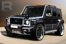 limited edition mercedes presenting the renntech limited edition g concept benzinsider