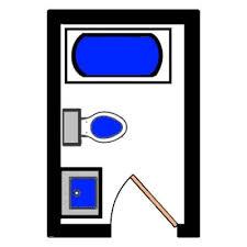 Floor Plan For Small Bathroom 99 Best Bathroom Floor Plans Images On Pinterest Bathroom Layout