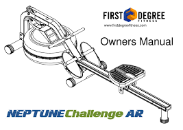 user manual neptune challenge rower ar by fitnessdigital issuu