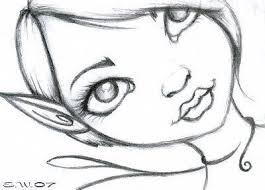 gallery pencil drawing easy fairy drawing art gallery