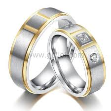wedding rings with names men and women titanium wedding rings set with name superior men