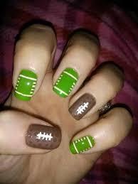 best 25 football nail designs ideas on pinterest football nails