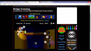 dj donnelly shows you how to beat the bridge crossing game youtube