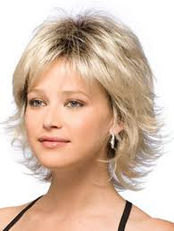 short hairstyle worn beind the ears in layers for fine hair fat women hairstyles weight loss feminine layering and face