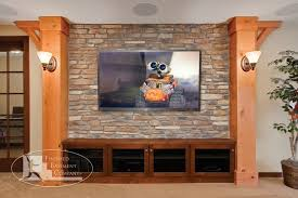 terrific rustic tv stand decorating ideas for basement traditional