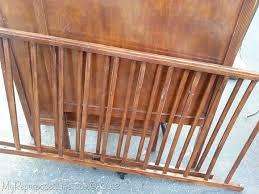 diy doggie gate crib rails my repurposed life