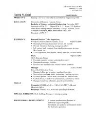 Sample Of Resume Objectives Resume Cv Cover Letter How To Write A by Resume Objectives For Banking Resume Objective Banking Resume