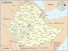 Highly Detailed River Map Of by Geography Of Ethiopia Wikipedia