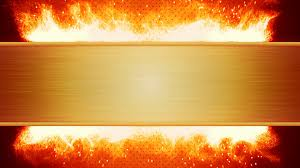 blank plate and flaming fire loop motion background videoblocks
