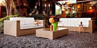 cora canapé canapé contemporain de jardin en aluminium en fibres