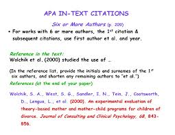 ideas of apa format citation journal article multiple authors with
