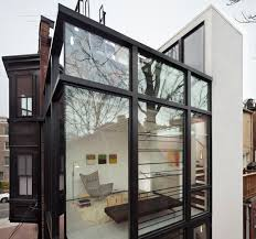 Modern Washington DC Row House IDesignArch Interior Design - Row house interior design