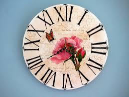 handmade vintage shabby chic clock flaircreationsblog