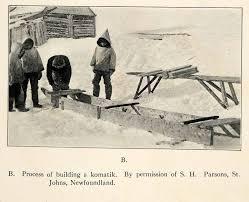 eskimo inuit halftone collection 1916 period paper