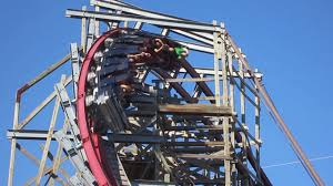 Texas Giant Six Flags New Texas Giant Off Ride Hd Six Flags Over Texas Youtube