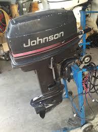 1985 evinrude 30 hp tiller outboard boat motor engine johnson omc