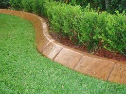 Timber Garden Edging Ideas Astonishing Timber Garden Edging Ideas Home Depot Lawn To Keep Gr