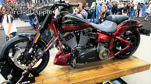 2017 cvo pro street breakout harley davidson all 3 colors shown