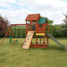 Kids Backyard Store Backyard Fun Maybe We Should Restain Ours And Give It An Update