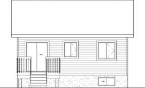 bi level house plans split level house plan with tour 80355pm architectural