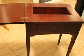 Repurposed Secretary Desk How To Repurpose A Sewing Table The Ebth Blog