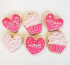 valentines cookies cookie gift box 4 pack