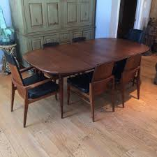 Midcentury Modern Dining Chairs - mid century modern walnut dining set at 1stdibs