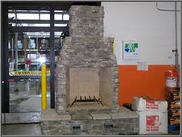 Firerock Masonry Fireplace Kits by Fire Rock Fireplaces Available At Selected Home Depot Stores In