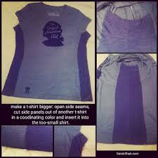 how to make a small upsize how to make a t shirt bigger u2013 sarah shah