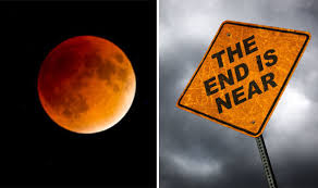 end of the world blue blood moon is a sign of the