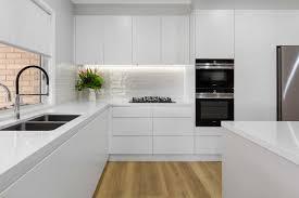 modern kitchen design pictures gallery modern white kitchen kellyville premier kitchens