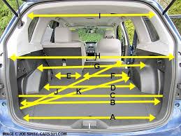 Toyota Prius Interior Dimensions 2014 Subaru Forester
