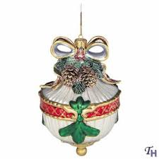 florentine motif ornament by fitz and floyd