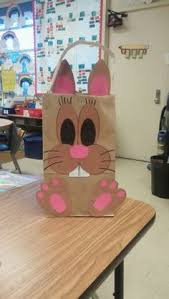 Easter Decorations Made From Paper by Easter Bunny Bags Made From White Paper Lunch Sack Wiley Center