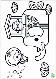 octonauts coloring pages print coloring
