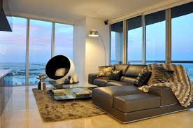 Contemporary Decorating Project In Miami U0027s Brickell Neighborhood